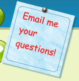 Email me your questions!